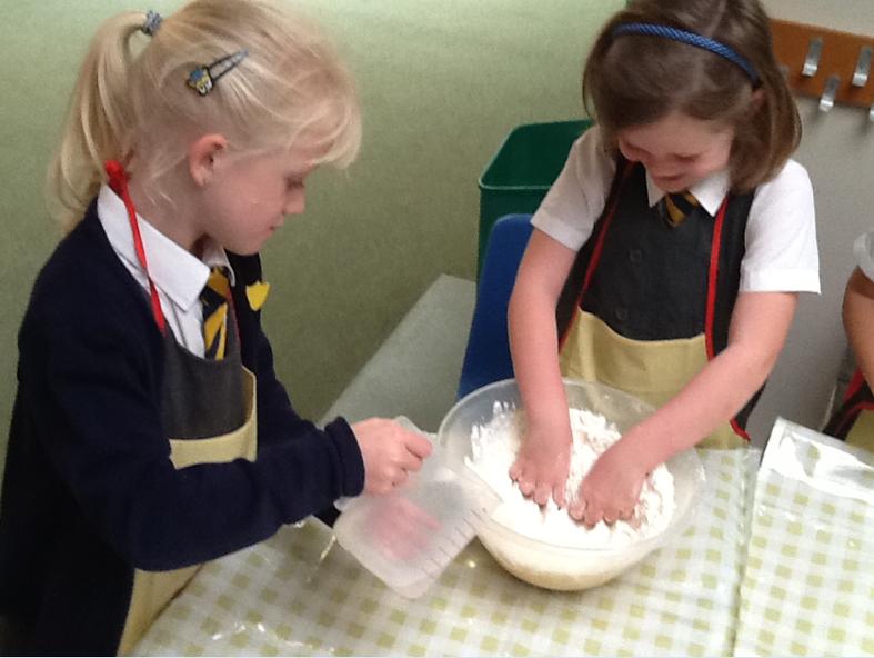Making bread like the Little Red Hen