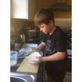 Freddie baking