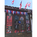 Mrs McCann's vintage VE Day door