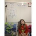 Megan's fantastic maths