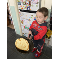 Christian's pancake