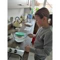 Emersonmaking rock cakes