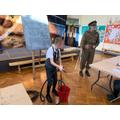 Year 6 World War 2 workshop