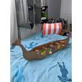 Charlie's viking ship