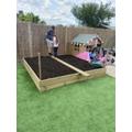 Building vegetable patch