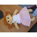 Tilly's beautiful felt doll