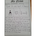 Tilly' Year 6 News!