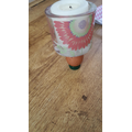 Aaron's egg and candle