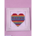 Lily-Grace's cross stitch heart
