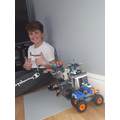 George and his Lego creations