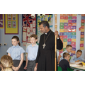 We were thankful to the Bishop for visiting