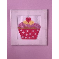 Lily-Grace's cross stitch cupcake