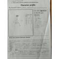 Character description - James