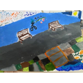 Iris's art work - do you recognise what she painted?