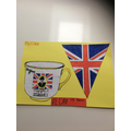 Chloe's tea cup and bunting