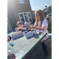 Fun and board games with Amelia