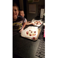 Dylan's meat ball pizza