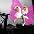 Ella's favourite scene from Princess Snow and the Unicorn