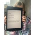Megan wrote a super poem inspired by Maya Angelou's poem.
