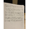 Writing from memory - Drew
