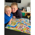 Completed jigsaw