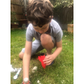 Aaron's Rocket experiment!