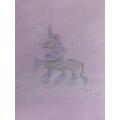 Cali's dazzling frost unicorn