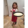 Annabel's pancake