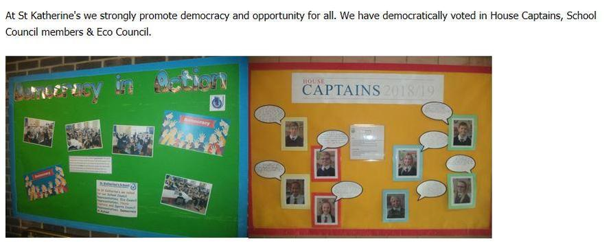 Democracy and Pupil Leadership