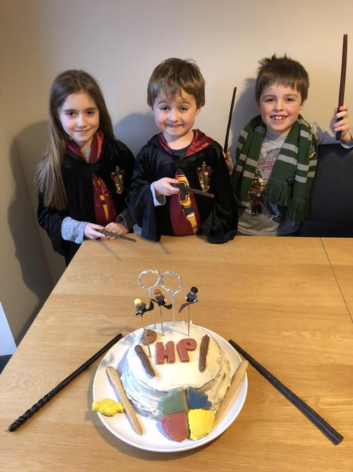The Harry Potter Cake