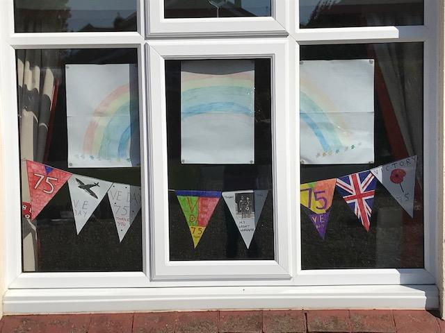 VE Day Bunting.