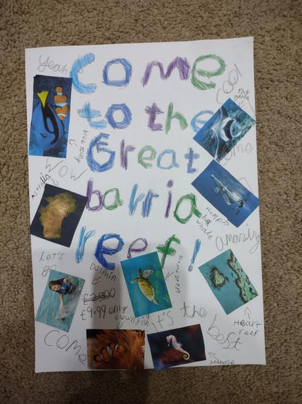 Barrier Reef - Persuasive Poster