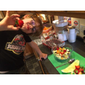 This one made a gorgeous fruit salad. Well done!