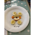 Dory fish class had a go too. Well done Dory Fish