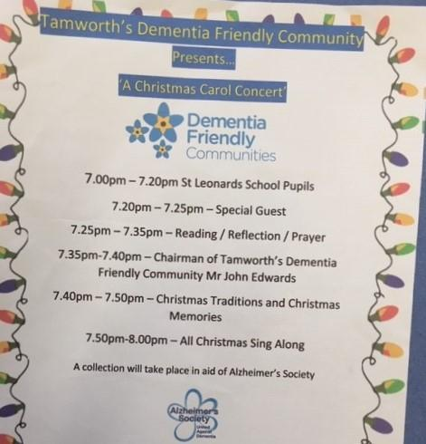 Supporting our local Dementia Friendly Community Group