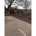 Playground play area