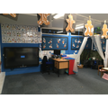 Reception Classroom until the move to the extension