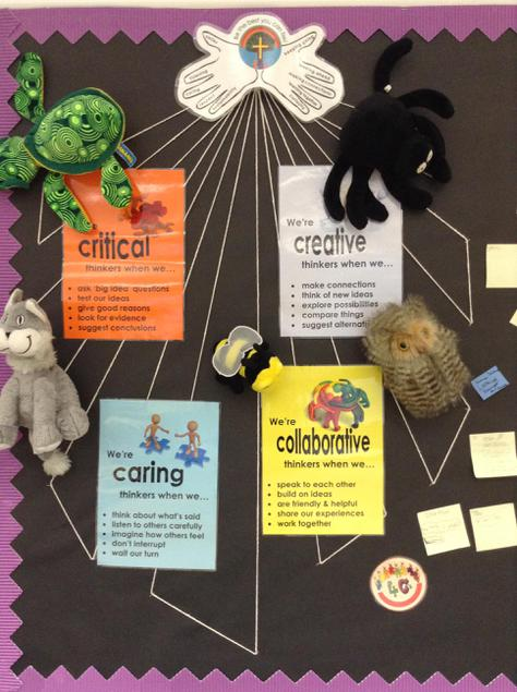The 4 'C's (and SLPS' animal learning behaviours)