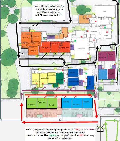 School Route Map
