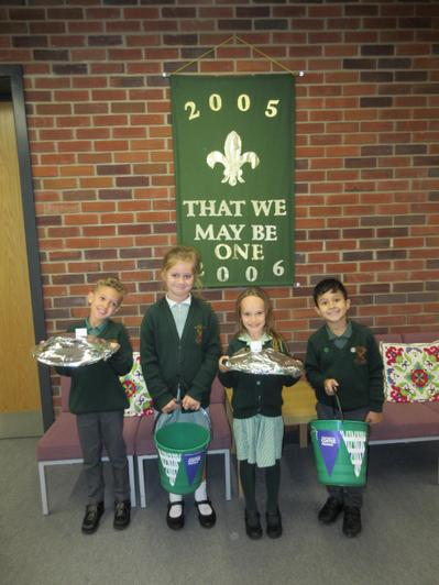 Our Year 2 School Council members are Kailan, Emily, Alice and Christiano