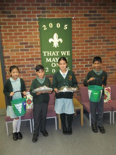 Our Year 5 School Council members are Miya, Leo, Aneeya and Revon