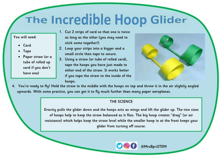 The Incredible Hoop Glider