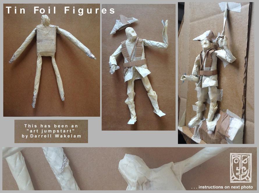 Tin Foil Figure