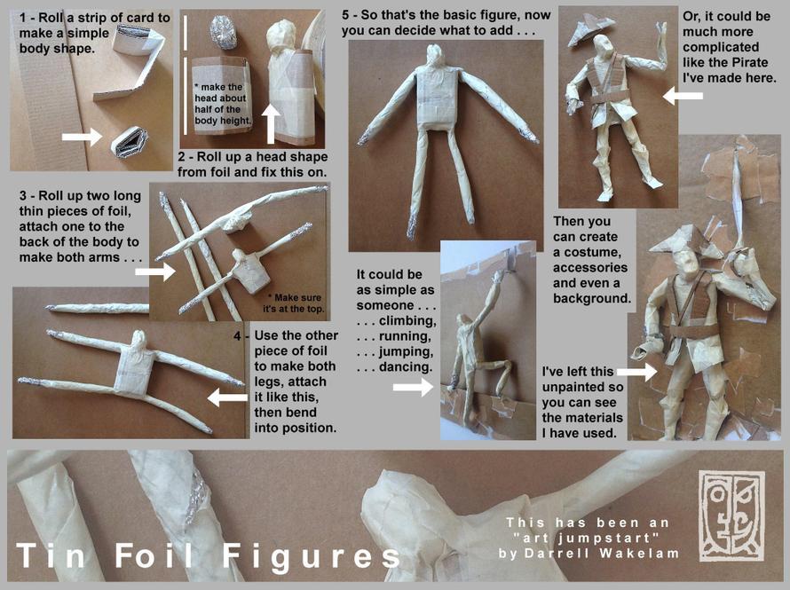 Tin Foil Figure - Instructions