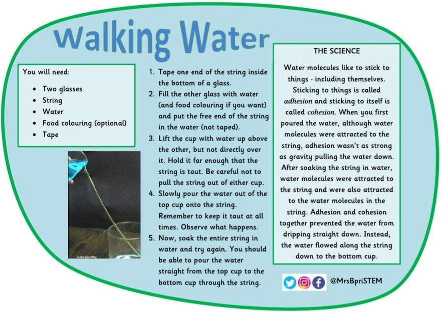 Walking Water