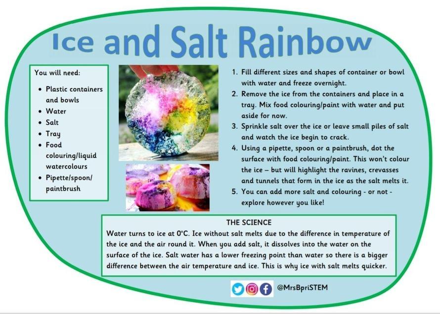Ice and Salt Rainbow