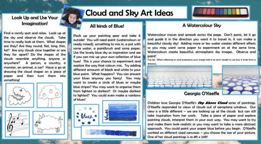 Cloud and Sky Art