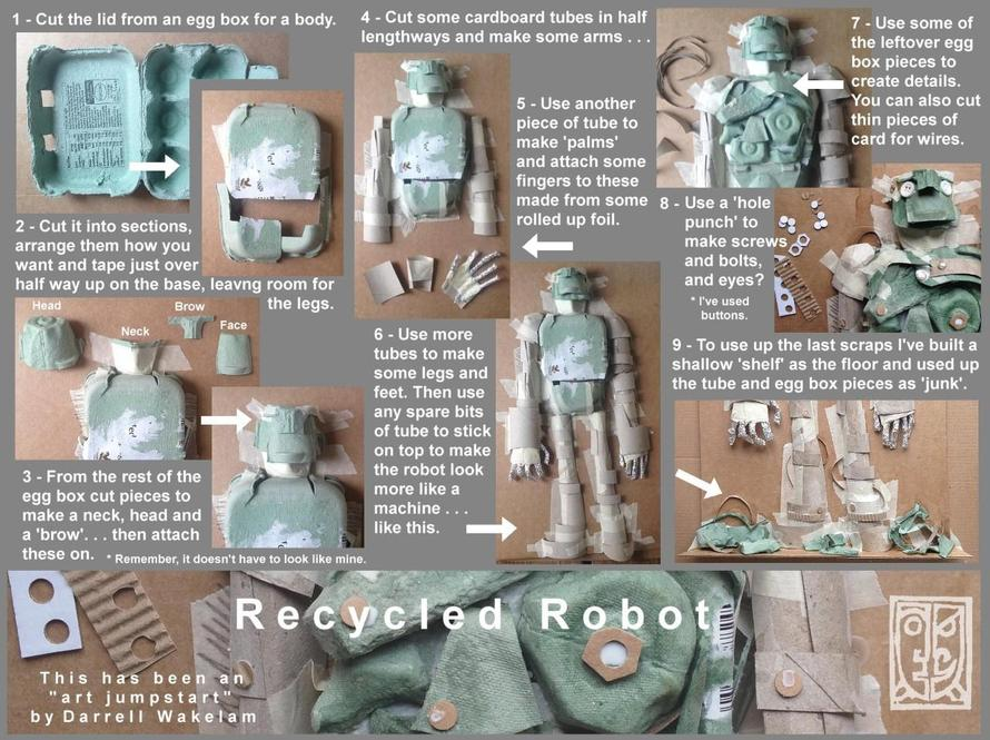 Recycled Robot - instructions