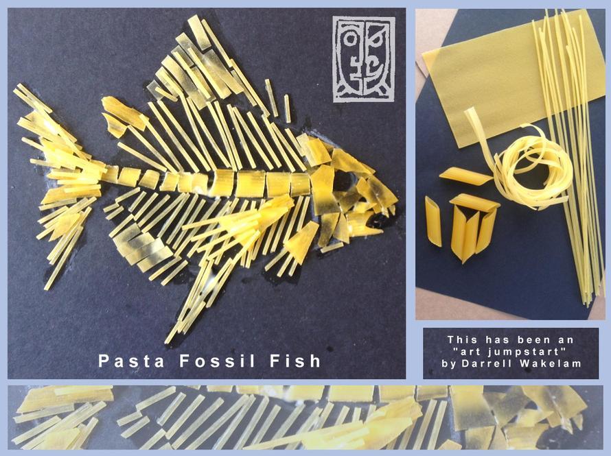 Pasta Fossil Fish