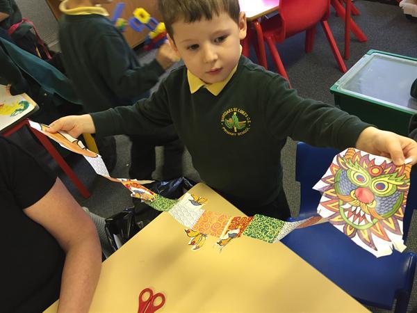Wow! What a long paper dragon